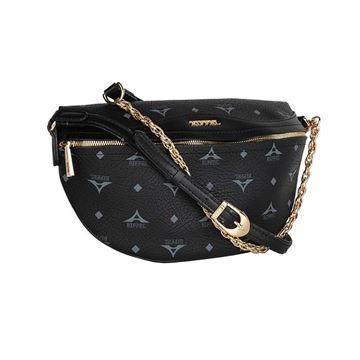 Εικόνα της  Γυναικεία τσάντα μέσης  μαύρο 36-181015-1
