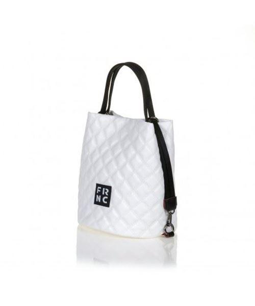 Εικόνα της   Γυναικεία τσάντα ώμου FRNC 1299  ΑΣΠΡΟ