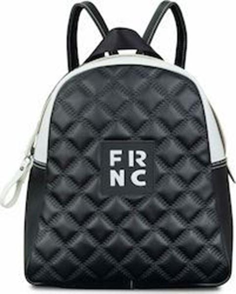 Εικόνα της  Γυναικεία τσάντα πλάτης FRNC 1202Κ μαύρο -άσπρο