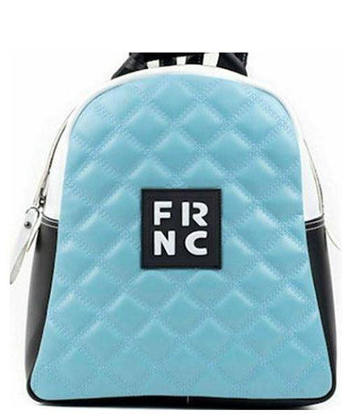 Εικόνα της  Γυναικεία τσάντα πλάτης FRNC 1202Κ σιελ-μαύρο -