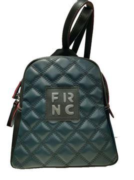 Εικόνα της  Γυναικεία τσάντα πλάτης FRNC 1201 πετρόλ