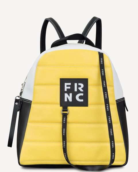 Εικόνα της   Γυναικεία τσάντα πλάτης FRNC 2132 κίτρινο