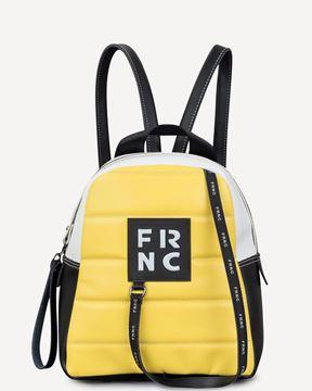 Εικόνα της Γυναικεία τσάντα πλάτης FRNC 2131 κίτρινο