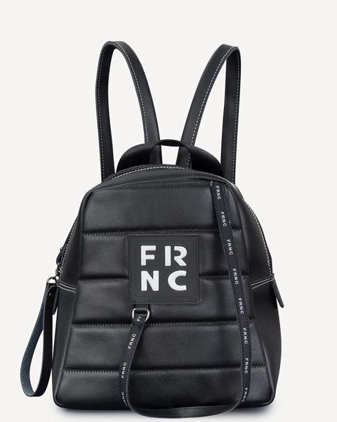 Εικόνα της  Γυναικεία τσάντα πλάτης FRNC 2131 μαύρο
