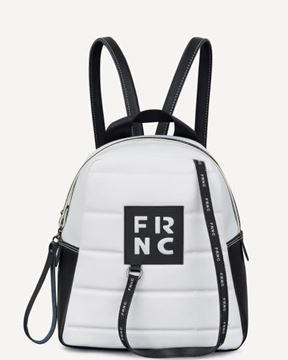 Εικόνα της  Γυναικεία τσάντα πλάτης FRNC 2131 άσπρο