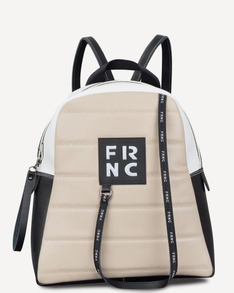 Εικόνα της   Γυναικεία τσάντα πλάτης FRNC 2132 beige