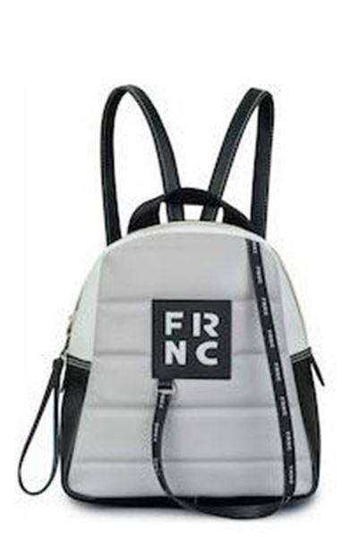 Εικόνα της   Γυναικεία τσάντα πλάτης FRNC 2131 γκρι