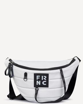 Εικόνα της   Γυναικεία τσάντα μέσης FRNC 2146 άσπρο