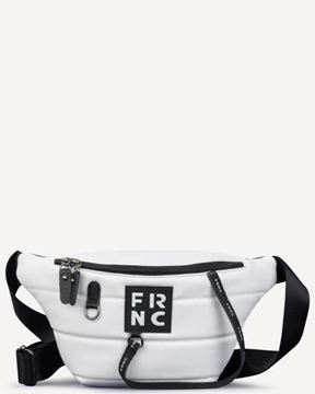Εικόνα της  Γυναικεία τσάντα μέσης FRNC 2147 άσπρο