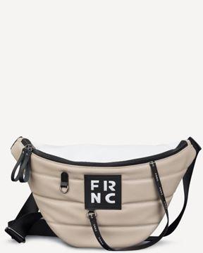 Εικόνα της Γυναικεία τσάντα μέσης FRNC 2146 beige