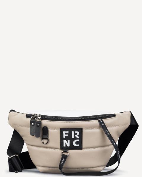 Εικόνα της   Γυναικεία τσάντα μέσης FRNC 2147 beige