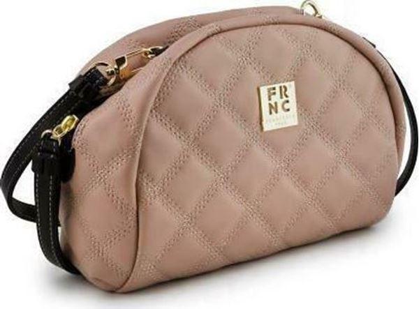 Εικόνα της Γυναικεία τσάντα χιαστή FRNC WALO42K NUDE