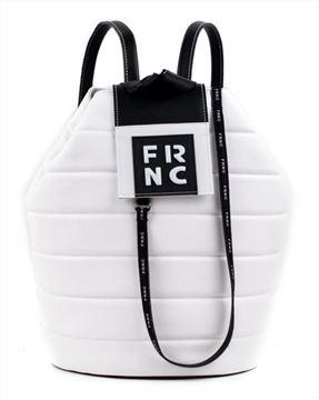 Εικόνα της  Γυναικεία τσάντα πλάτης FRNC 2135 άσπρο