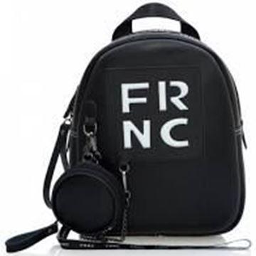 Εικόνα της Γυναικεία τσάντα πλάτης FRNC 1672 μαύρο