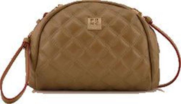 Εικόνα της  Γυναικεία τσάντα χιαστή FRNC WALO43K beige