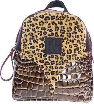 Εικόνα της   Γυναικεία τσάντα πλάτης FRNC 1453 leopard