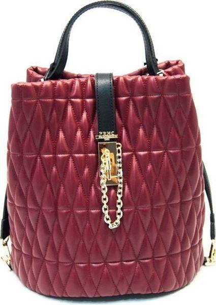Εικόνα της  Γυναικεία τσάντα πολυμορφική ώμου  FRNC 3013 bordeaux
