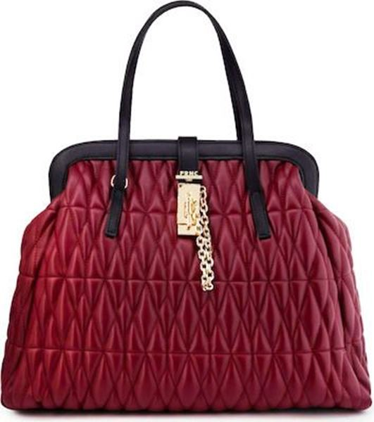 Εικόνα της  Γυναικεία τσάντα χειρός FRNC 3016 bordeaux