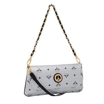 Εικόνα της Μικρή γυναικεία τσάντα πολυμορφική Ασημί  36-8910-EX