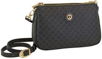 Εικόνα της  Γυναικεία τσάντα χιαστί μαύρη 171-111090-4Ε