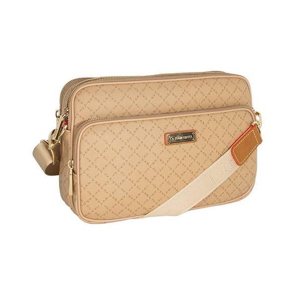 Εικόνα της Γυναικεία τσάντα χιαστί Μπεζ171-112018-la tour eiffel