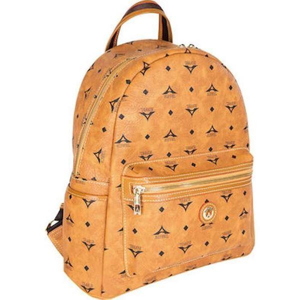 Εικόνα της   Μεγάλη γυναικεία τσάντα πλάτης ταμπά 36-142030-3