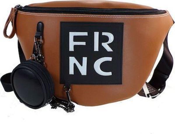 Εικόνα της  Γυναικεία τσάντα μέσης FRNC 1670 ταμπά
