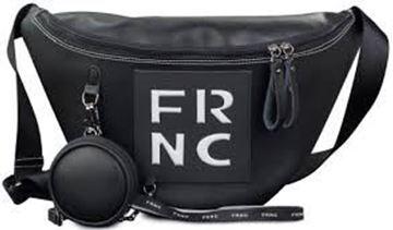 Εικόνα της  Γυναικεία τσάντα μέσης FRNC 1670 μαύρο