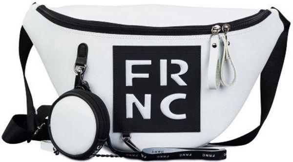 Εικόνα της Γυναικεία τσάντα μέσης FRNC 1670 λευκό