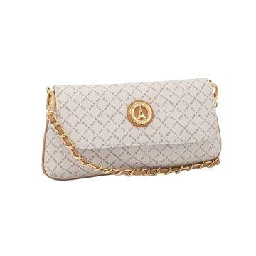 Εικόνα της   Μικρή γυναικεία τσάντα πολυμορφική  άσπρη171-8910