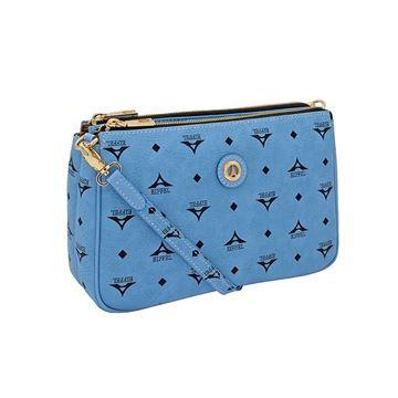 Εικόνα της   Γυναικεία τσάντα χιαστί  σιελ 36-111090-4Ε