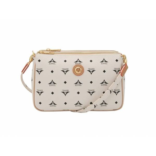 Εικόνα της   Γυναικεία τσάντα χιαστί εκρού 36-111090-4Ε