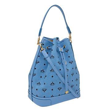 Εικόνα της  Μεγάλη γυναικεία τσάντα ώμου πουγκί ΣΙΕΛ 36-10075L