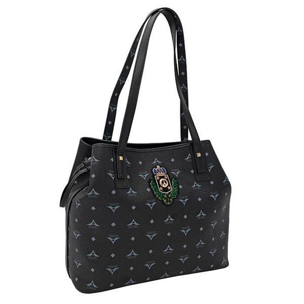 Εικόνα της Γυναικεία τσάντα ώμου ΜΑΥΡΟ 36-171034-2Ζ la tour eiffel