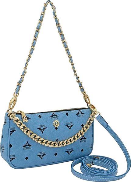 Εικόνα της   Γυναικεία τσάντα ώμου/χιαστί σιέλ 36-201021-1