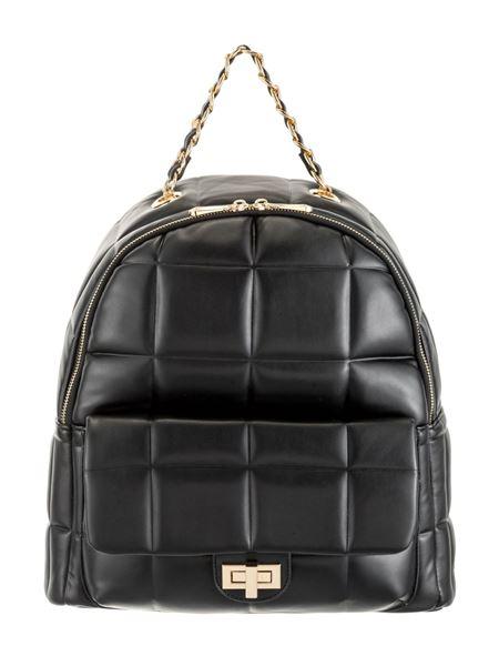 Εικόνα της  Γυναικεία τσάντα ALESSIA MASSIMO  πλάτης 5158 black