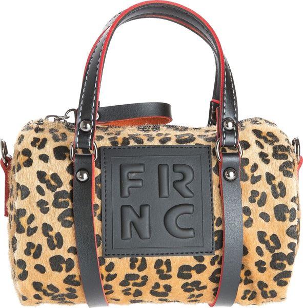 Εικόνα της  Γυναικεία τσάντα χιαστή FRNC WAL019 LEOPARD