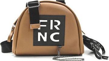 Εικόνα της   Γυναικεία τσάντα χιαστή FRNC 1671 tampa1671 tampa white letter frnc