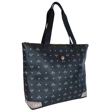 Εικόνα της  Γυναικεία τσάντα ώμου ημιεπαγγελματική Μαύρο 36-122028-5C